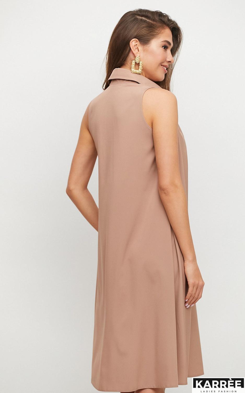 Платье Сирена, Мокко - фото 3