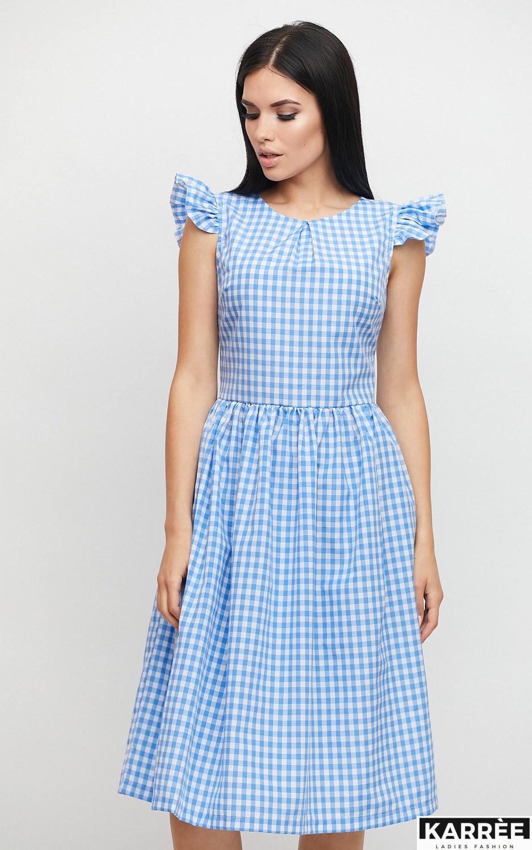 Платье Ибица, Голубой