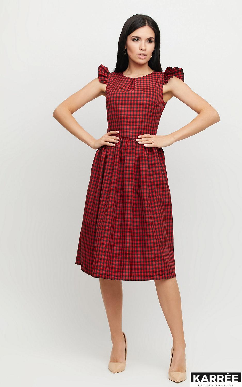 Платье Ибица, Красный - фото 3