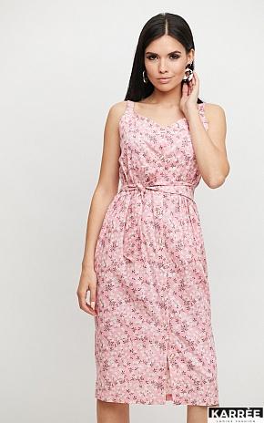 Платье Моана, Розовый - фото 1