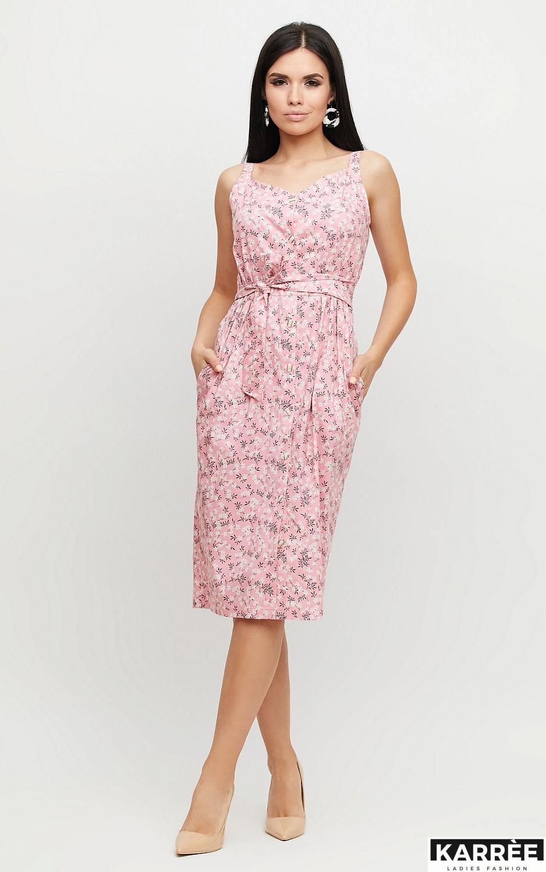 Платье Моана, Розовый - фото 3