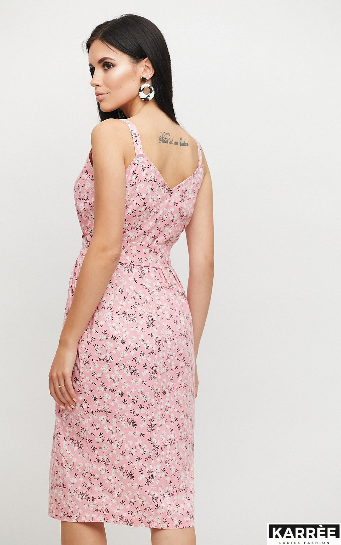 Платье Моана, Розовый - фото 2