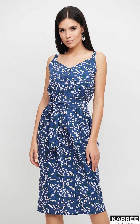 Платье Моана, Синий