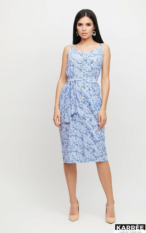Платье Моана, Голубой - фото 3