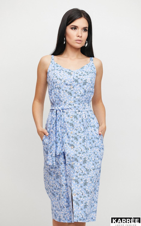 Платье Моана, Голубой