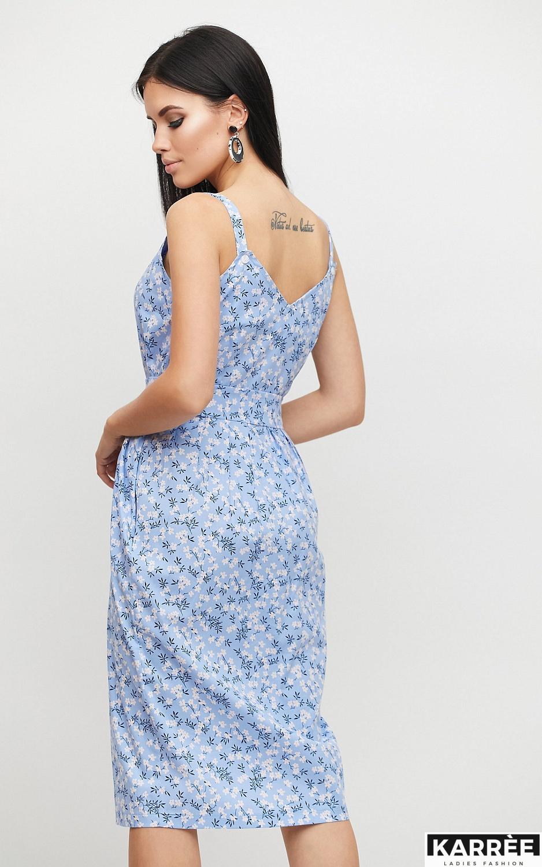 Платье Моана, Голубой - фото 4