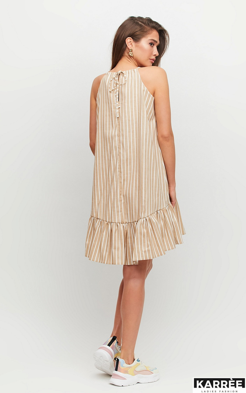 Платье Таити, Бежевый