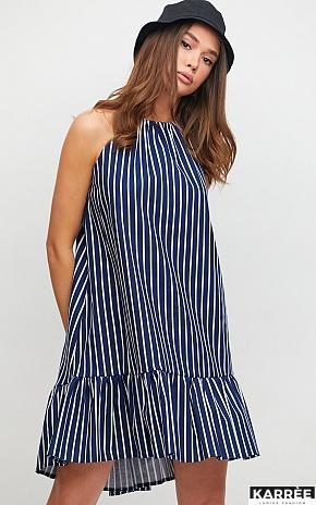 Платье Таити, Темно-синий - фото 1