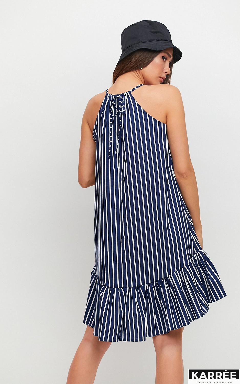 Платье Таити, Темно-синий - фото 2
