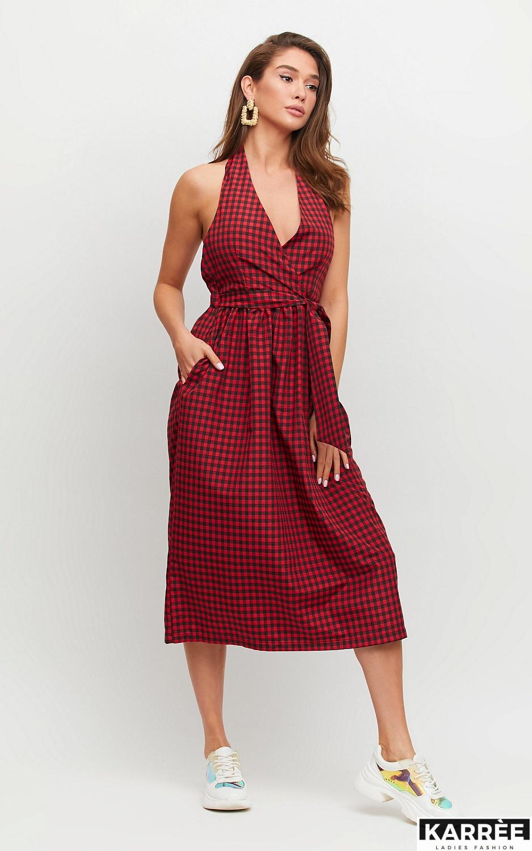 Платье Шарлон, Красный
