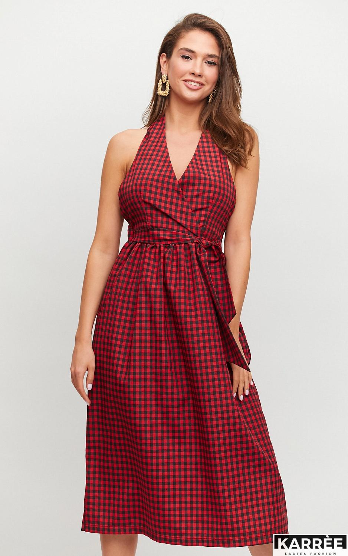Платье Шарлон, Красный - фото 3