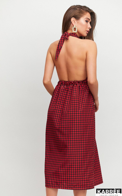 Платье Шарлон, Красный - фото 4