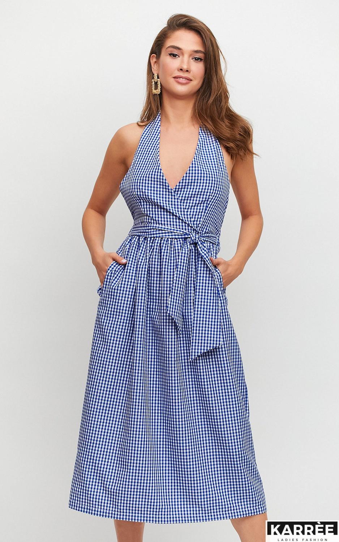 Платье Шарлон, Синий