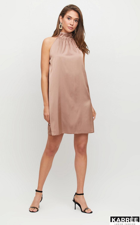 Платье Синтия, Мокко - фото 3