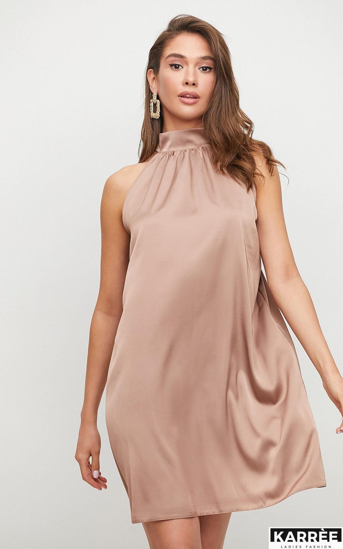 Платье Синтия, Мокко - фото 2