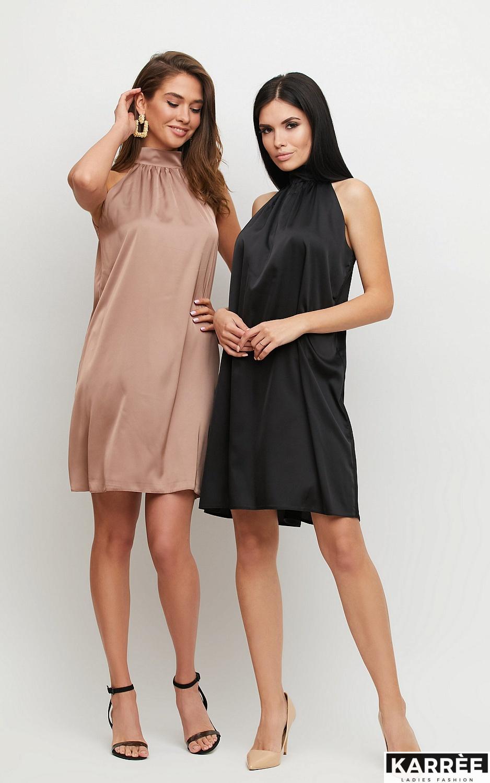 Платье Синтия, Мокко - фото 1