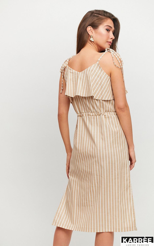 Платье Холли, Бежевый