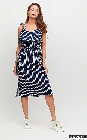 Платье Холли, Темно-синий - фото 1