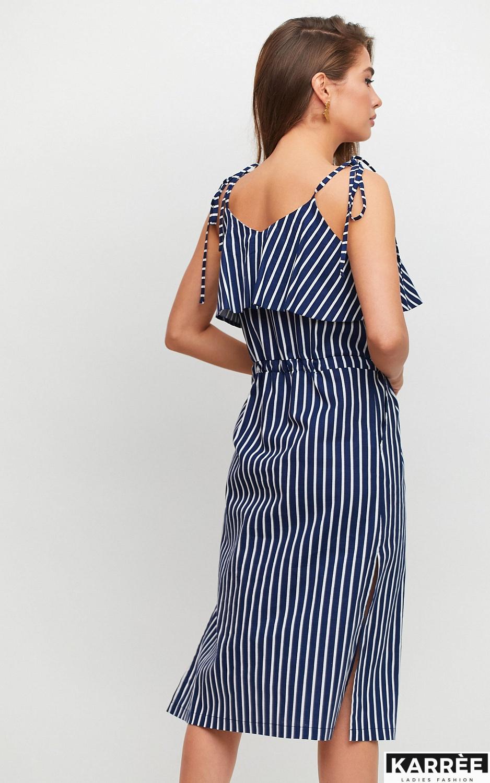 Платье Холли, Темно-синий - фото 3