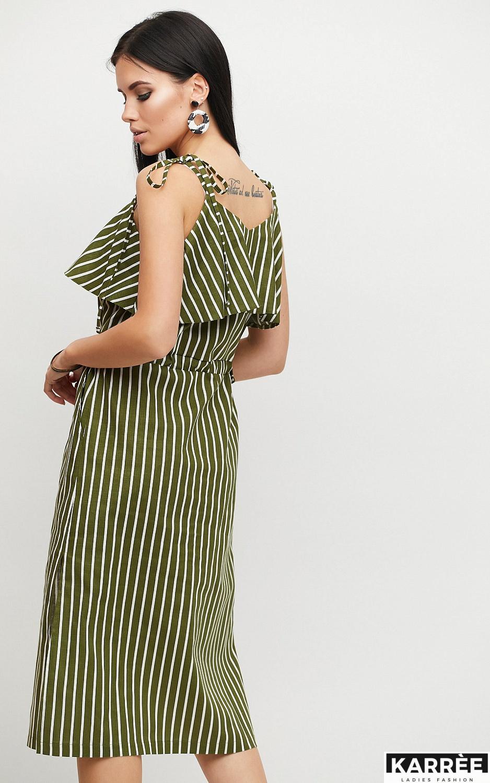 Платье Холли, Хаки - фото 3