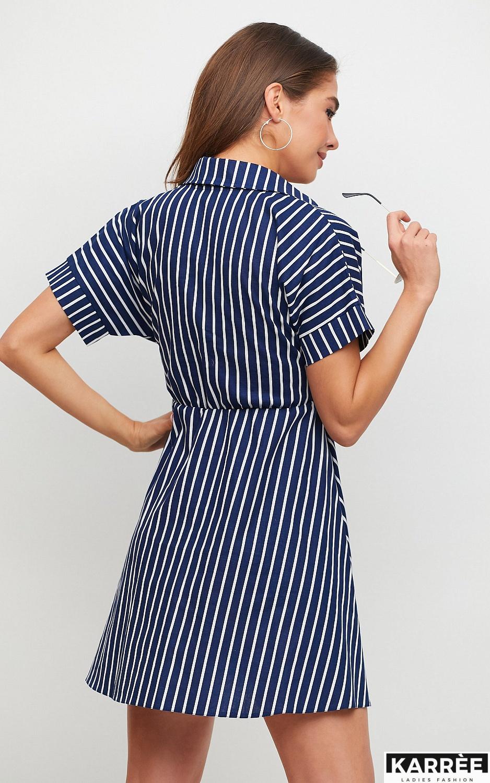 Платье Крис, Темно-синий - фото 3