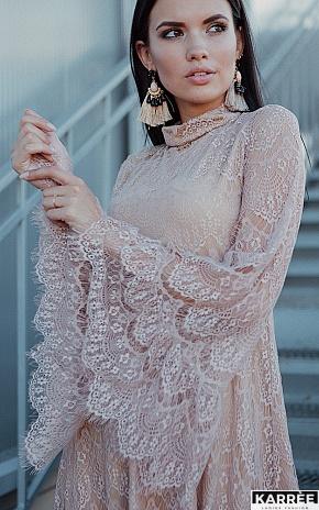 Платье Росси, Бежевый - фото 1