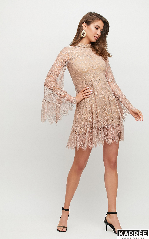 Платье Росси, Бежевый - фото 3