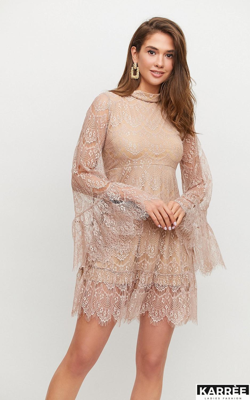 Платье Росси, Бежевый - фото 4