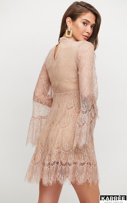 Платье Росси, Бежевый - фото 5