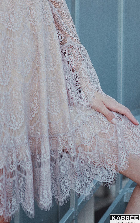 Платье Росси, Бежевый