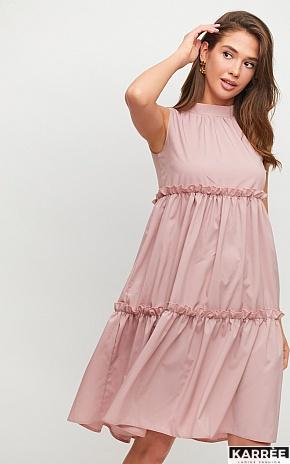 Платье Бали, Пыльно-розовый - фото 1
