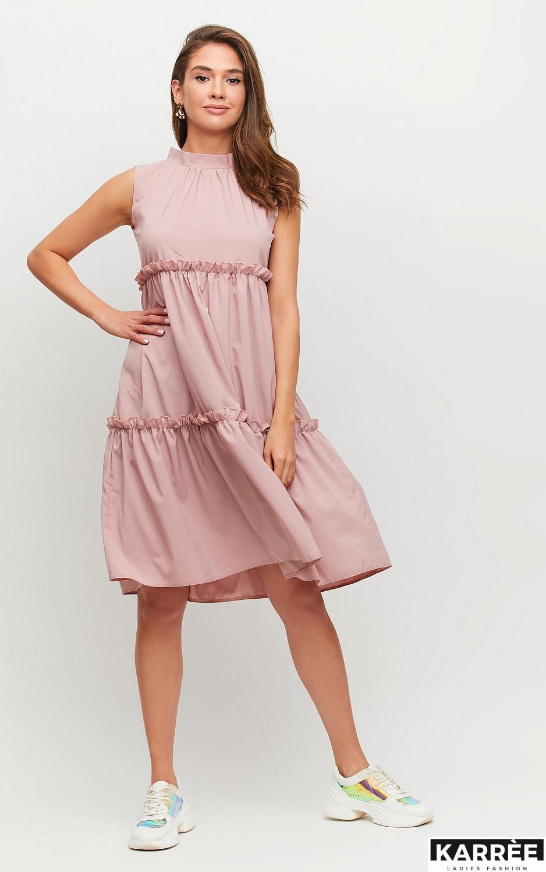 Платье Бали, Пыльно-розовый - фото 3