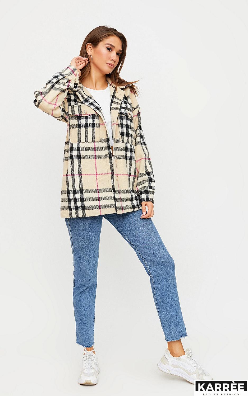 Куртка-рубашка Чейз, Бежевый - фото 5