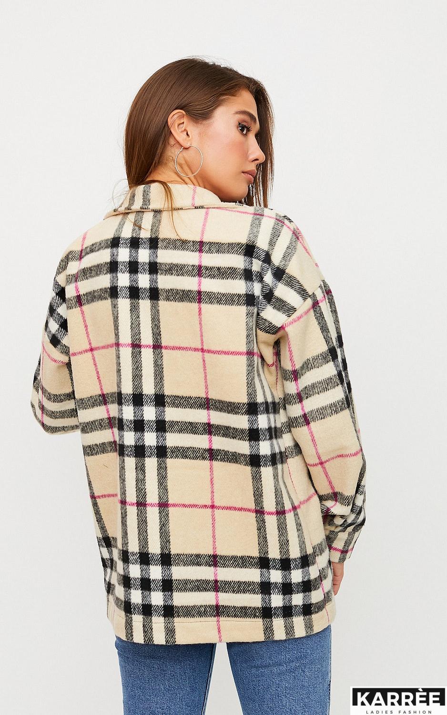 Куртка-рубашка Чейз, Бежевый - фото 4