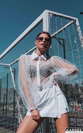 Блуза Минори, Белый - фото 1