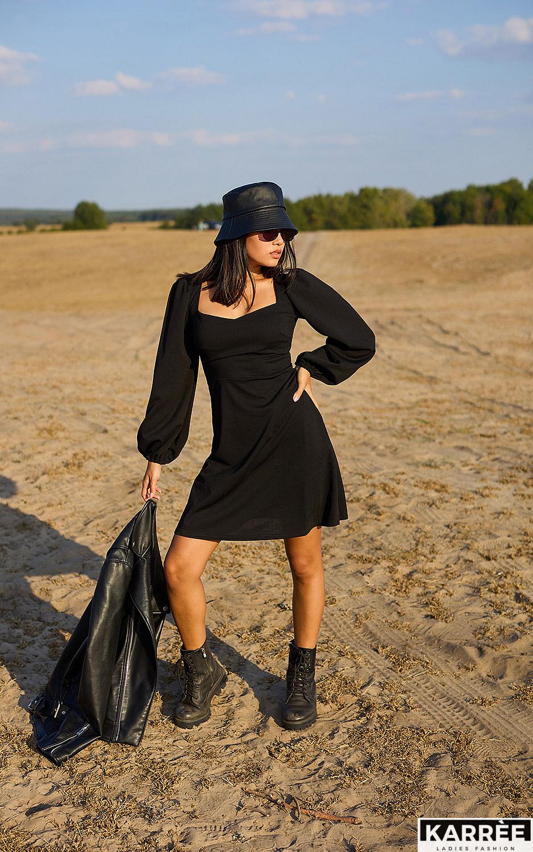 Платье Пальмира, Черный - фото 1