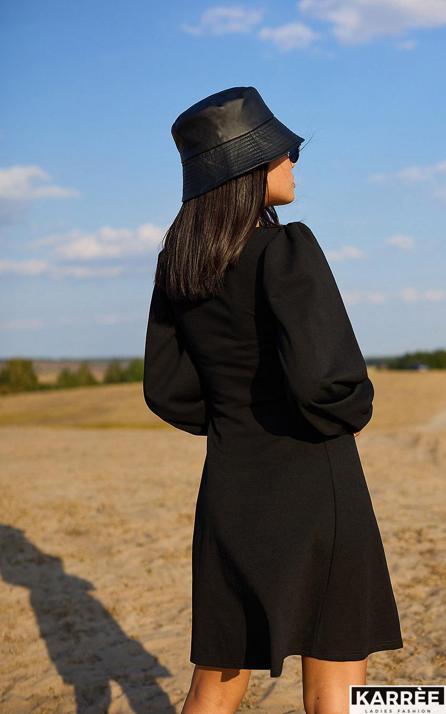 Платье Пальмира, Черный - фото 4