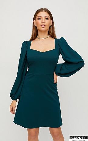 Платье Пальмира, Темно-зеленый - фото 1