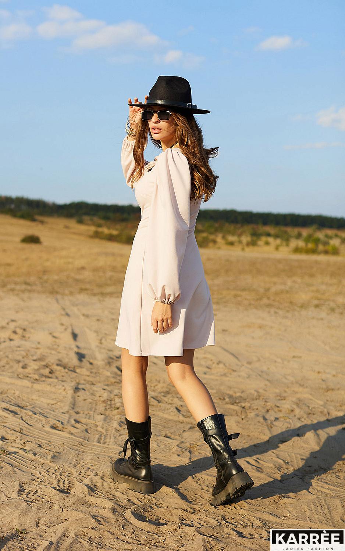 Платье Пальмира, Бежевый - фото 3