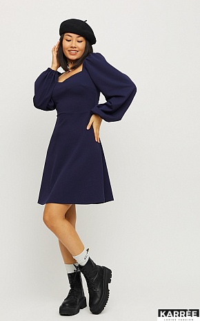 Платье Пальмира, Темно-синий - фото 1