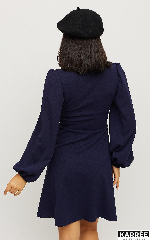 Платье Пальмира, Темно-синий - фото 3