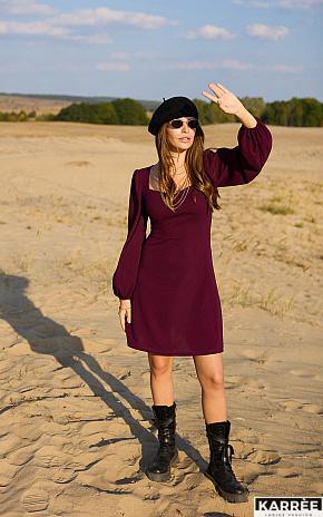 Платье Пальмира, Бургунди - фото 1