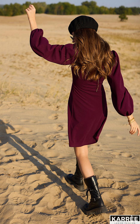 Платье Пальмира, Бургунди - фото 3