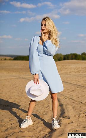 Платье Пальмира, Голубой - фото 1