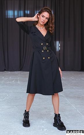 Платье Алмея, Черный - фото 1