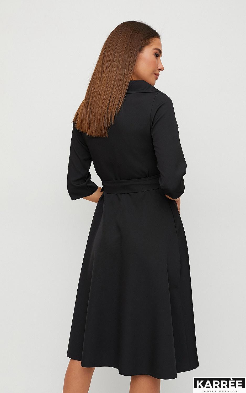 Платье Алмея, Черный - фото 3