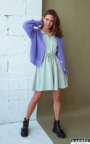 Платье Микадо, Фисташковый - фото 1