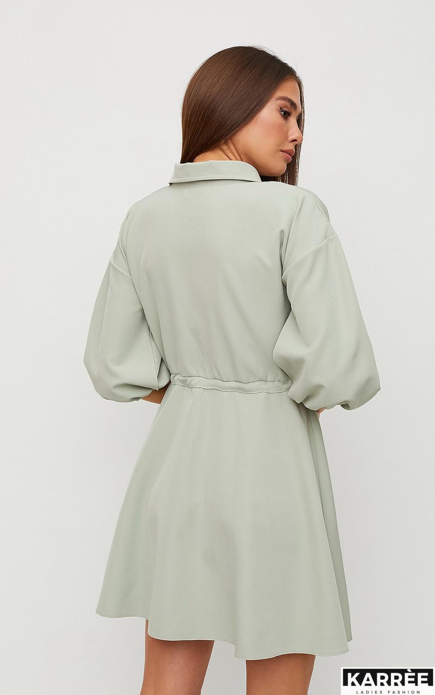 Платье Микадо, Фисташковый - фото 5