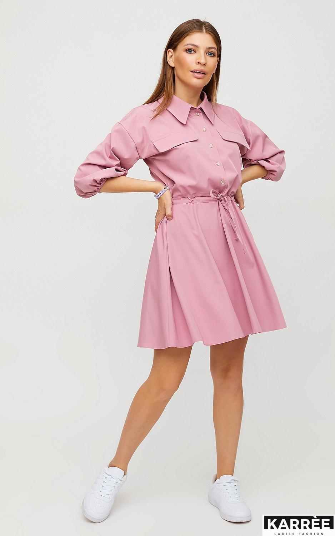 Платье Микадо, Лиловый - фото 3