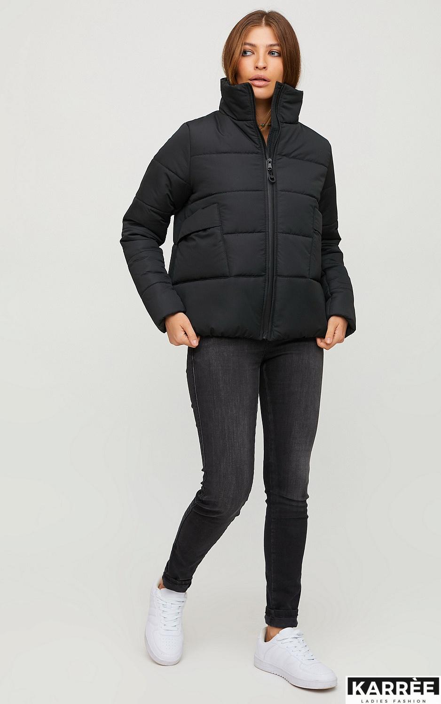 Куртка Брук, Черный - фото 4